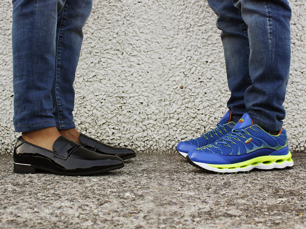 Scarpe eleganti e sportive