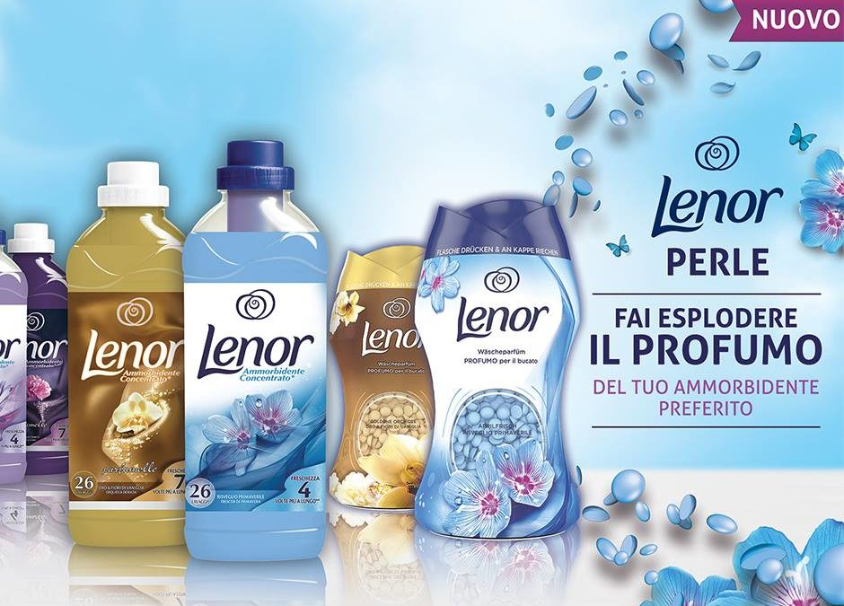 Ammorbidenti e Perle Lenor!